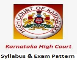 Karnataka High Court Civil Judge Syllabus 2018