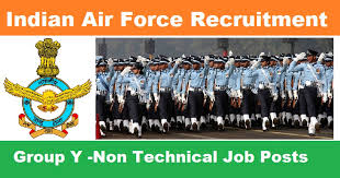 Indian Air Force Group X Y Airmen Recruitment
