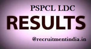 PSPCL LDC Results 2018