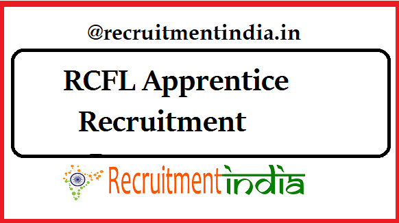 RCFL Apprentice Recruitment