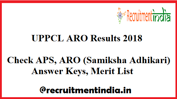UPPCL ARO Results
