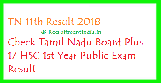 TN 11th Result