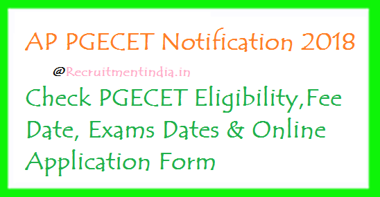 AP PGECET Notification