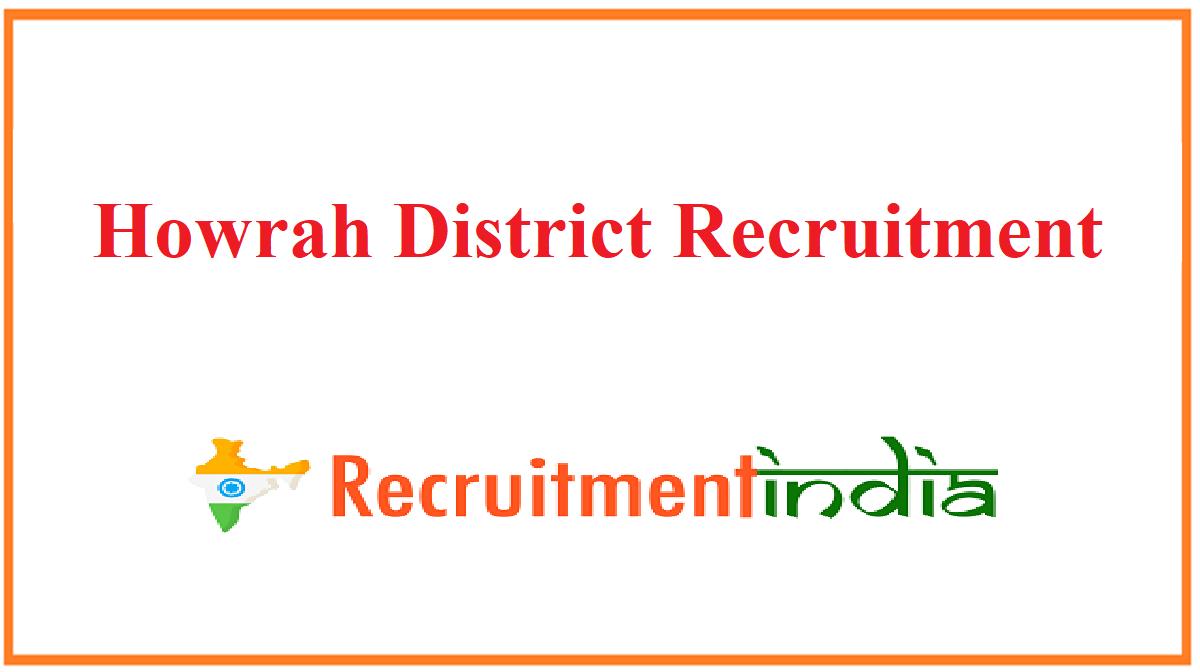 Howrah District Recruitment