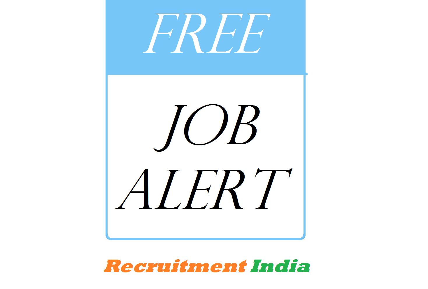 Free job alert 2018 19 latest sarkari naukri jobs admit cards free job alert thecheapjerseys Images