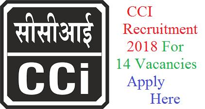CCI Recruitment
