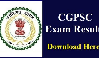 CGPSC Forest Service Result 2018 | Forest Ranger & Forest Assistant Conservator Answer Keys, Merit List Pdf