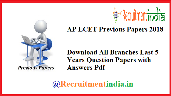 AP ECET Previous Papers