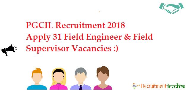 PGCIL Field Engineer Recruitment
