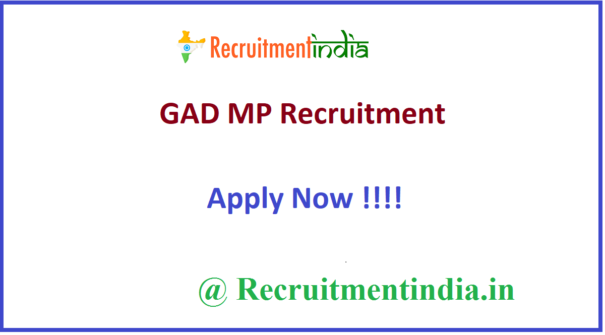 GAD MP Recruitment