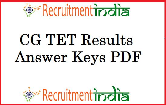 CG TET Results
