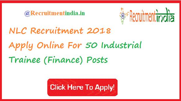 NLC Industrial Trainee Recruitment