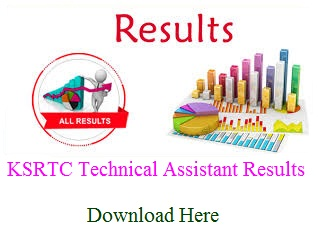 KSRTC Technical Assistant Result