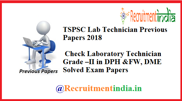 TSPSC Hostel Welfare Officer Previous Papers