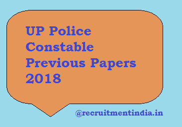 UP Police Constable Previous Papers