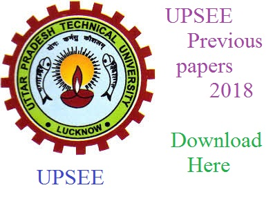UPSEE Previous papers