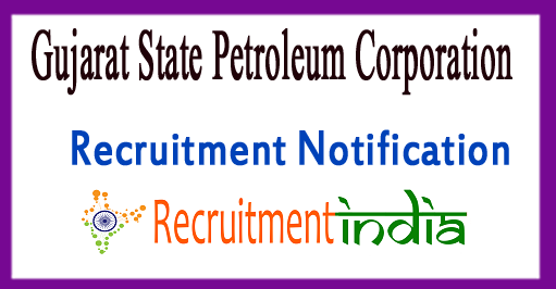 GSPC Recruitment Notification