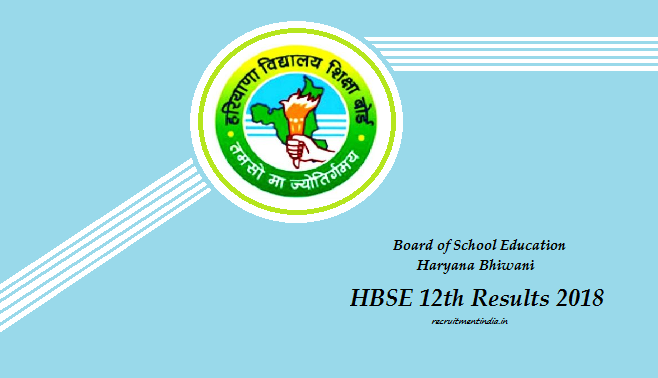 HBSE 12th Results