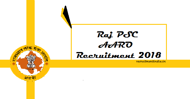RPSC AARO Recruitment