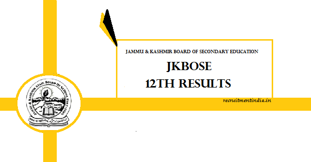 JK BOSE 12th Results