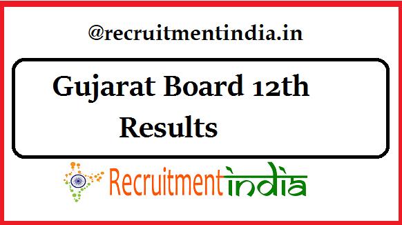 Gujarat Board 12th Results