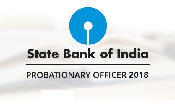 SBI PO 2018 Recruitment