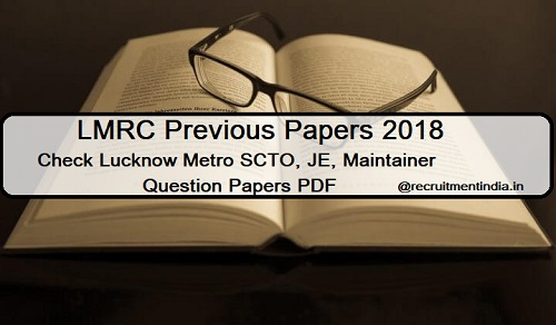 LMRC Previous Papers