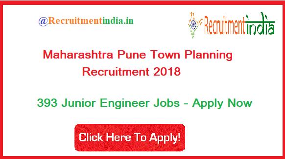 Maharashtra Town Planning Recruitment