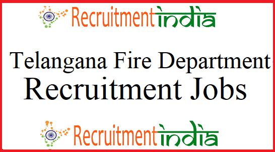 Telangana Fire Department Notification