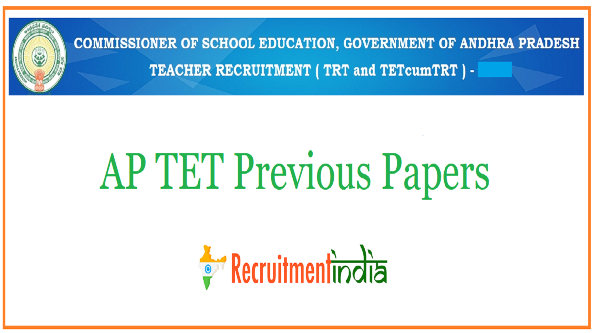 AP TET Previous Papers