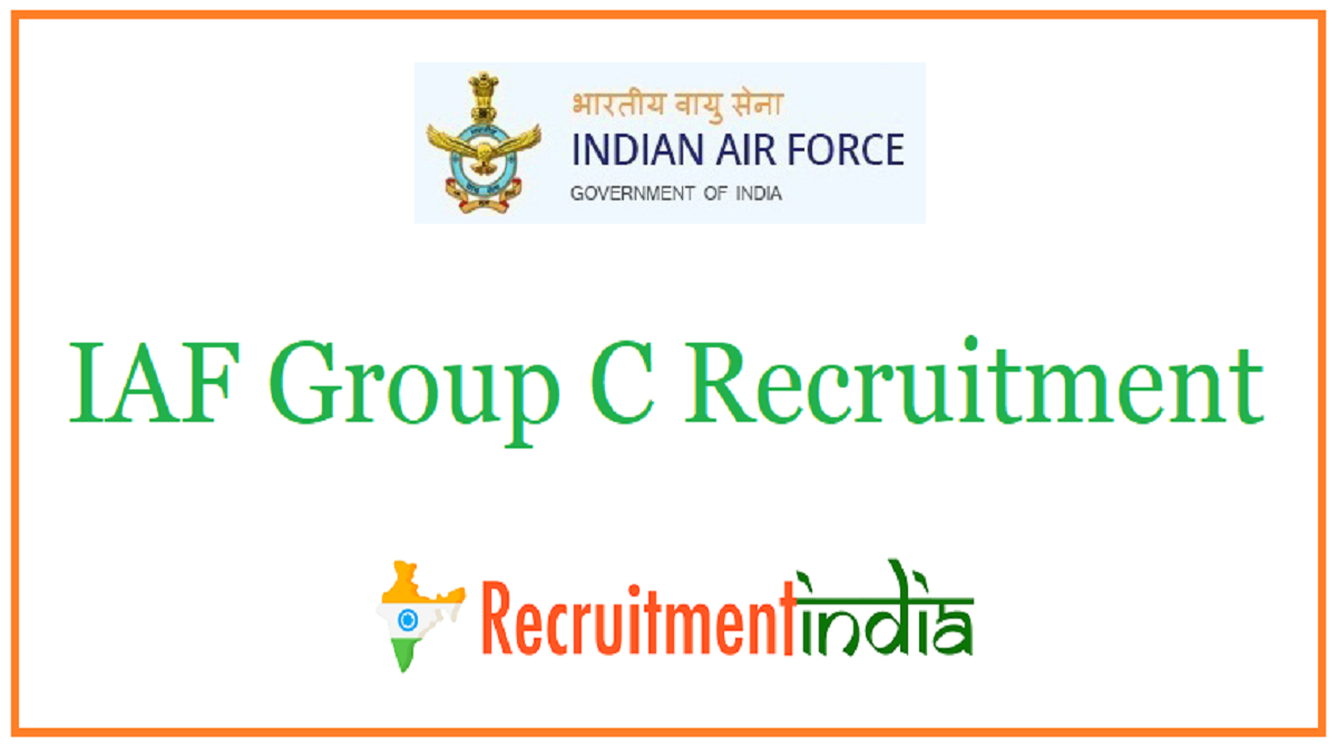 IAF Group C Recruitment