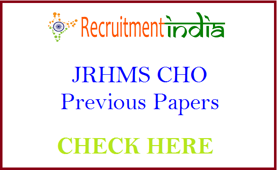 JRHMS CHO Previous Papers