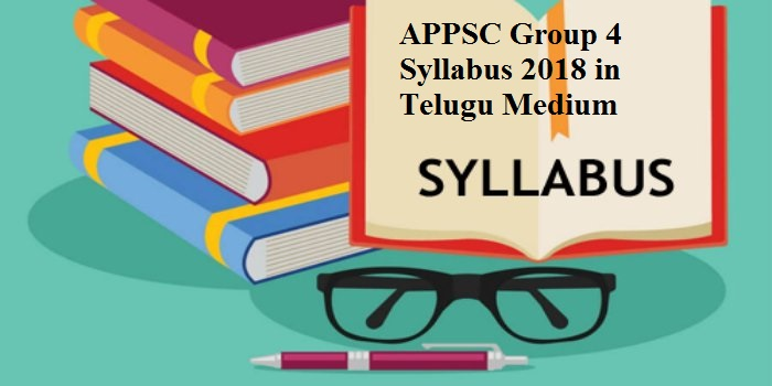 APPSC Group 4 Syllabus