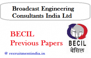 BECIL Previous Papers 2018
