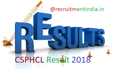 CSPHCL Result