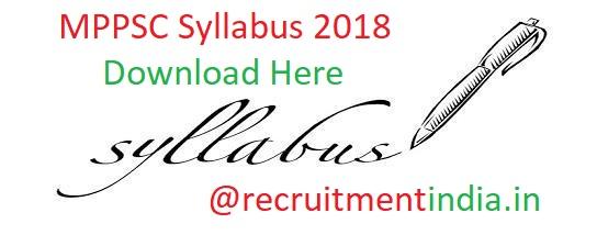 MPPSC Syllabus
