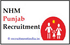 NHM Punjab Recruitment 2018