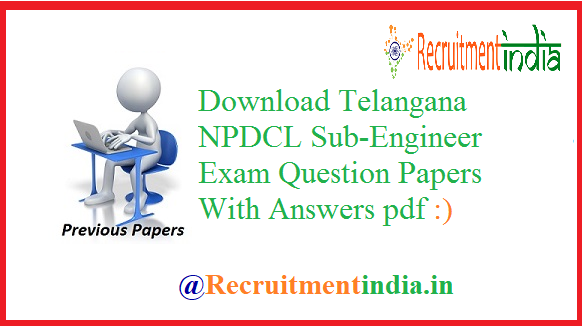 TSNPDCL Previous Papers