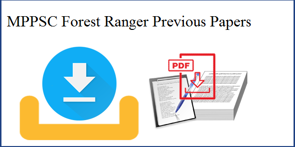MPPSC Forest Ranger Previous Papers