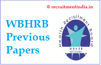 WBHRB Medical Technologist Previous Papers