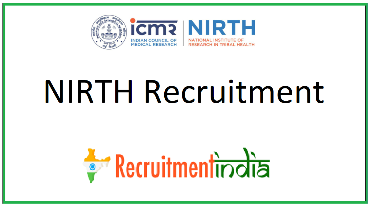 NIRTH Recruitment