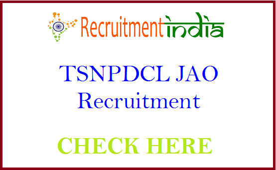 TSNPDCL JAO Recruitment