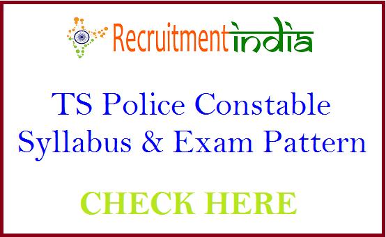 TS Police Constable Syllabus