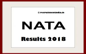 NATA Results 2018