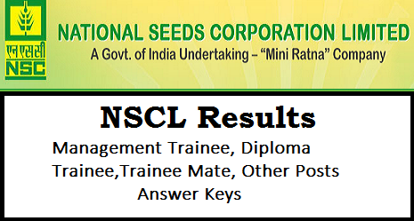 NSCL Results