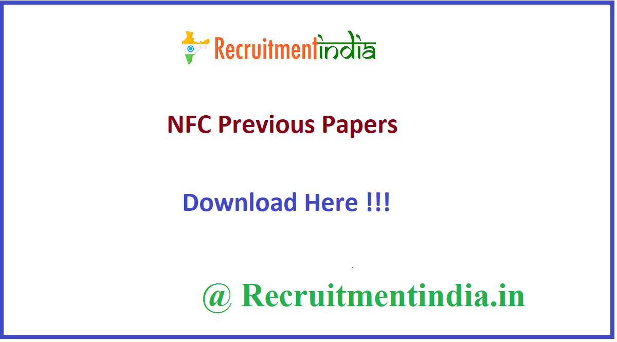 NFC Previous Papers