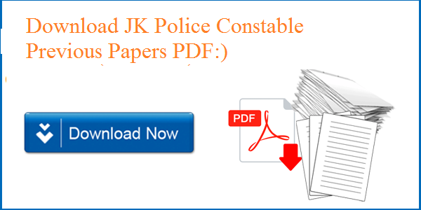 JK Police Constable Previous Papers