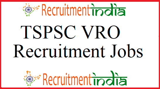 TSPSC VRO Notification