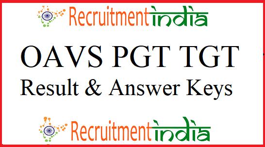 OAVS PGT TGT Result