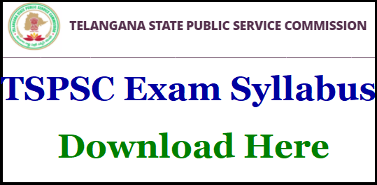 TSPSC Junior Assistant Syllabus